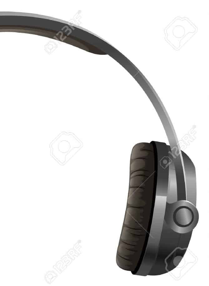 16283104-illustration-of-a-headphone-on-a-white-background